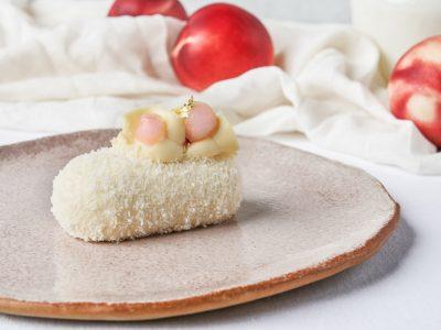 椰子蜜桃蛋糕