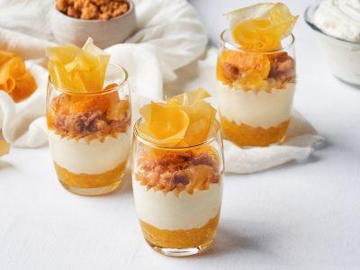 黄金香杯子蛋糕